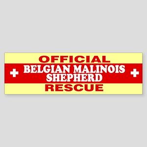 BELGIAN MALINOIS SHEPHERD Bumper Sticker
