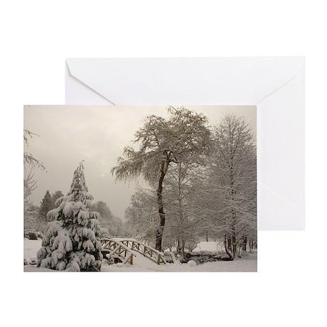 Winter Wonderland Love Greeting Card