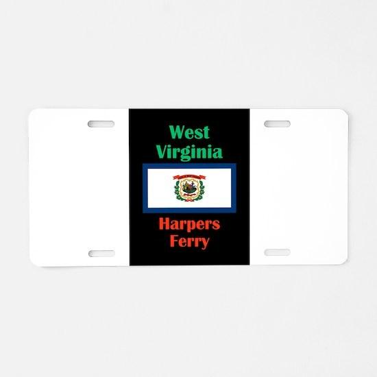 Harpers Ferry West Virginia Aluminum License Plate