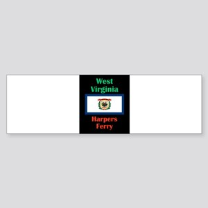 Harpers Ferry West Virginia Bumper Sticker