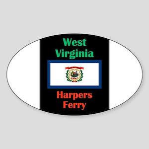 Harpers Ferry West Virginia Sticker