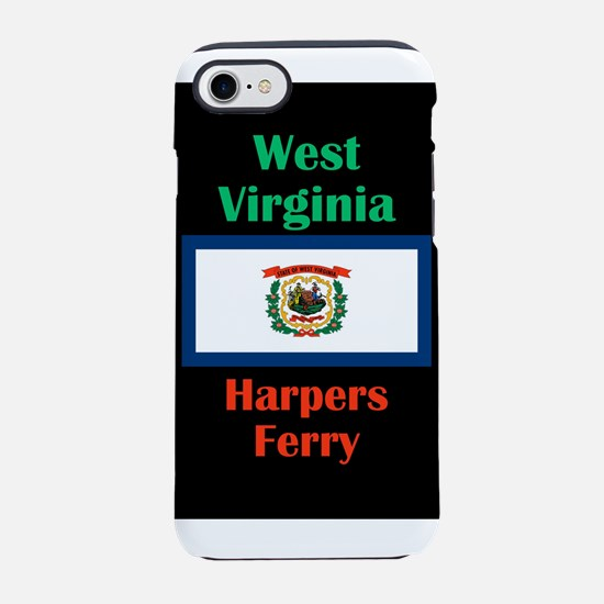 Harpers Ferry West Virginia iPhone 8/7 Tough Case