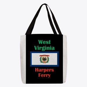Harpers Ferry West Virginia Polyester Tote Bag