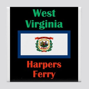 Harpers Ferry West Virginia Tile Coaster