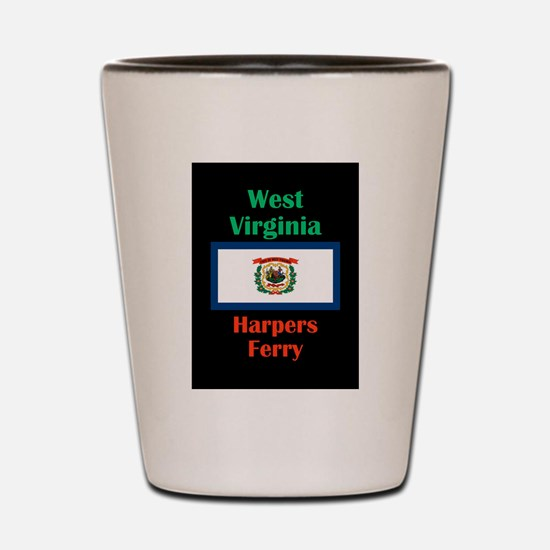 Harpers Ferry West Virginia Shot Glass