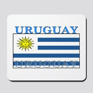 Uruguay Uruguayan Flag Mousepad