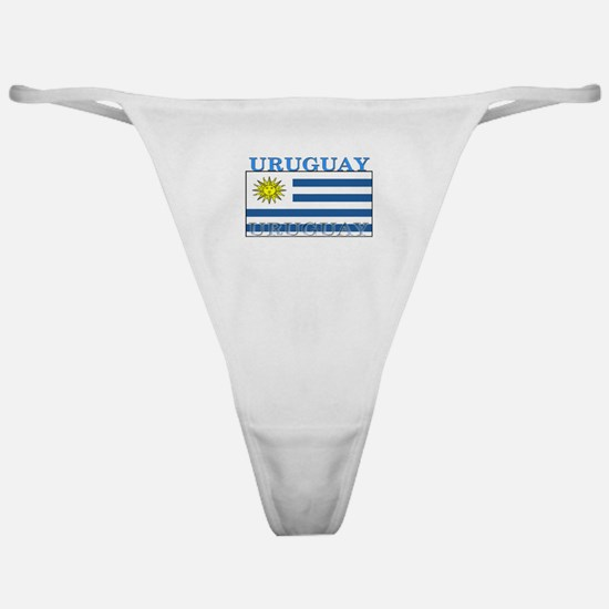 Uruguay Uruguayan Flag Classic Thong