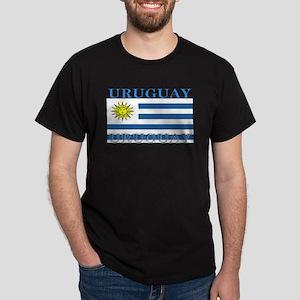 Uruguay Uruguayan Flag Dark T-Shirt