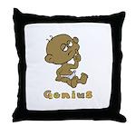 Baby Genius Throw Pillow