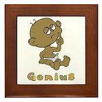 Baby Genius Framed Tile
