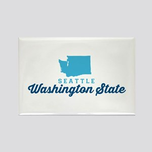 Seattle. Rectangle Magnet Magnets