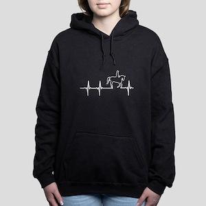 Horse in my heartbeat T- Women's Hooded Sweatshirt