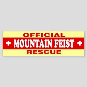 MOUNTAIN FEIST Bumper Sticker