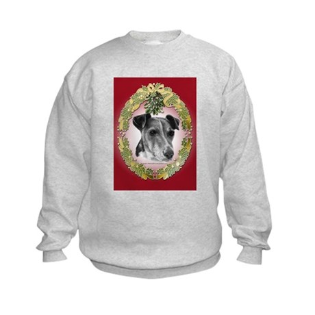 Fox Terrier Christmas Kids Sweatshirt