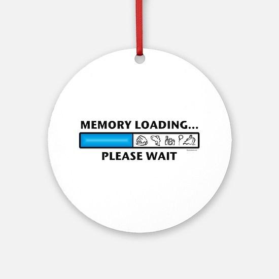 Memory Loading Guy Ornament (Round)