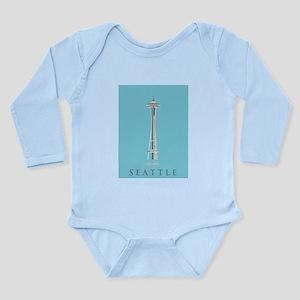 Olympic National Park. Long Sleeve Infant Bodysuit