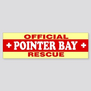 POINTER BAY Bumper Sticker