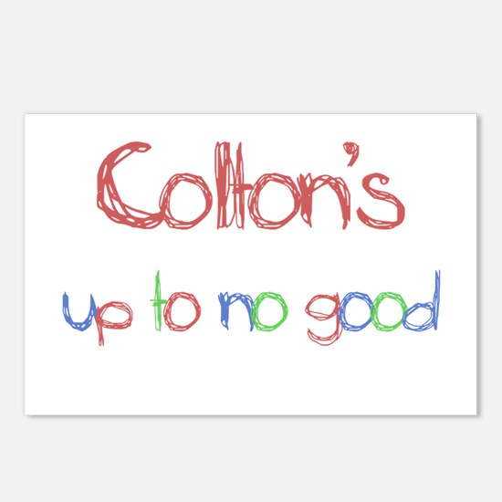 Colton's Up To No Good Postcards (Package of 8)