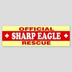 SHARP EAGLE Bumper Sticker