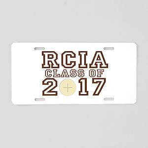 RCIA Class of 2017 Aluminum License Plate