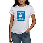 Winter Sucks - bring on globa Women's T-Shirt