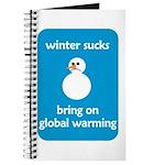 Winter Sucks - bring on globa Journal