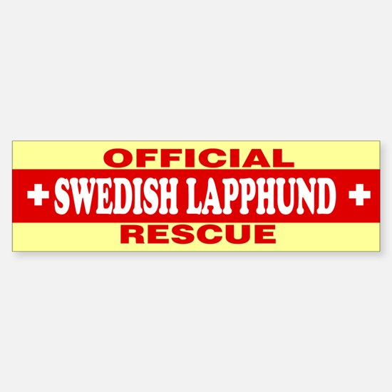 SWEDISH LAPPHUND Bumper Bumper Bumper Sticker