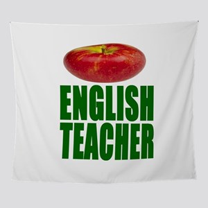 English Teacher Wall Tapestry