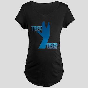 Treknerd Maternity Dark T-Shirt