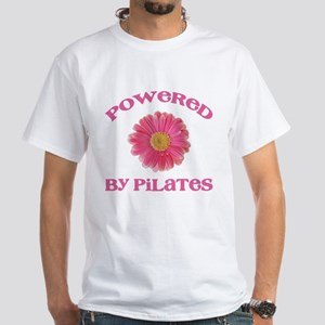 Powered by Pilates White T-Shirt