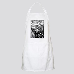 Munch's Scream Lithograph BBQ Apron