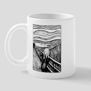 Munch's Scream Lithograph Mug