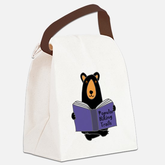 Cute Funny hiking Canvas Lunch Bag