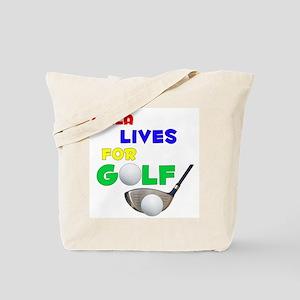 Laila Lives for Golf - Tote Bag