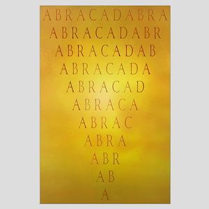 Large Abracadabra Poster