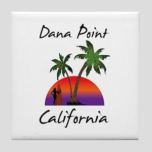 Dana Point California Tile Coaster