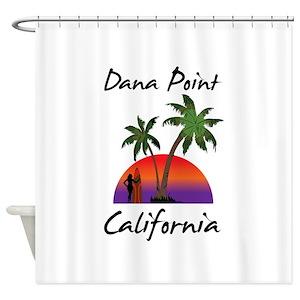 Ocean Beach California Shower Curtains