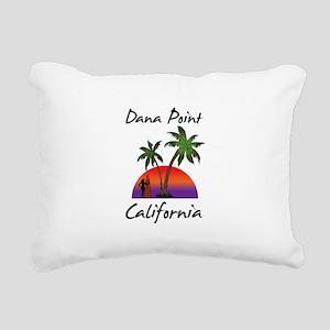 Dana Point California Rectangular Canvas Pillow