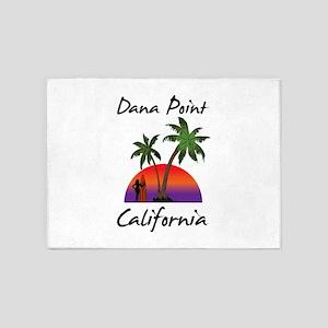 Dana Point California 5'x7'Area Rug