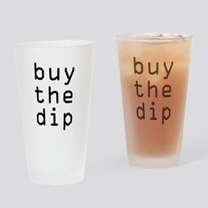 Buy The Dip Bitcoin Crypto Drinking Glass