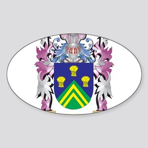Jessett Coat of Arms - Family Crest Sticker