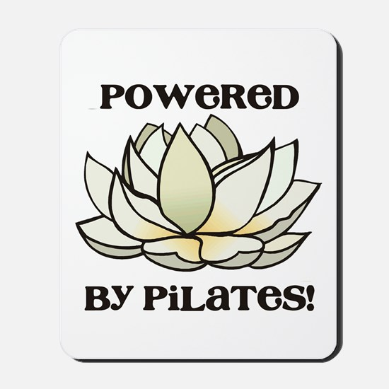 Powered by Pilates Lotus Mousepad