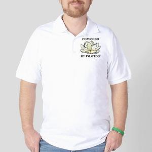 Powered by Pilates Lotus Golf Shirt
