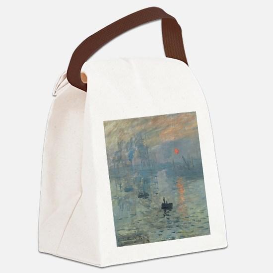 Claude Monet Impression Soleil Levant Canvas Lunch
