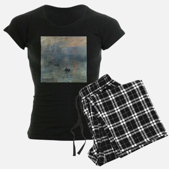 Claude Monet Impression Soleil Levant Pajamas