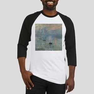Claude Monet Impression Soleil Levant Baseball Jer