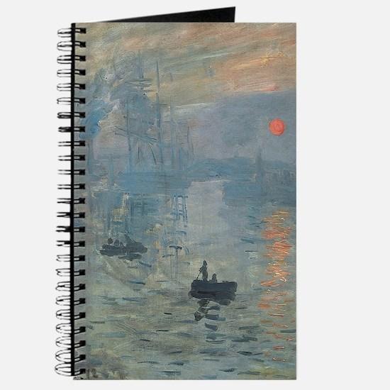 Claude Monet Impression Soleil Levant Journal