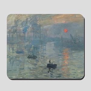 Claude Monet Impression Soleil Levant Mousepad