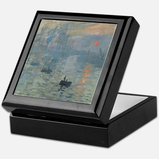 Claude Monet Impression Soleil Levant Keepsake Box