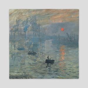 Claude Monet Impression Soleil Levant Queen Duvet